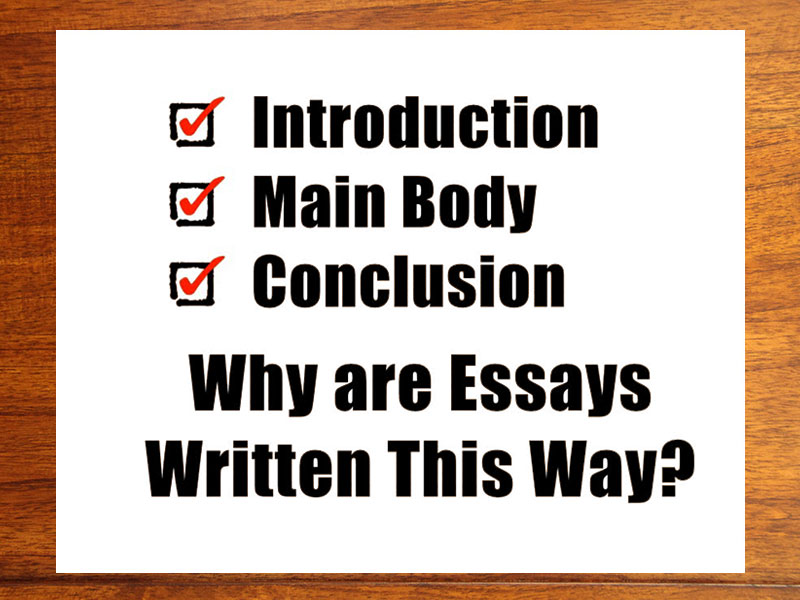 how to structure your essay properly