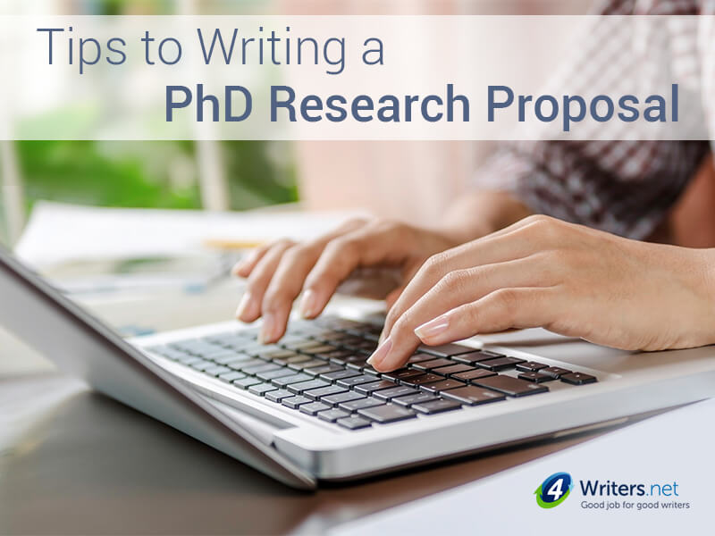 4writers-Writing a Good PhD Research Proposal